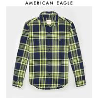American Eagle 2151_1022 拼色格纹衬衫