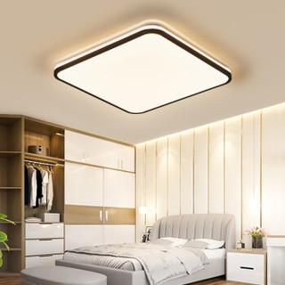 HD led吸顶灯 北欧客厅灯具现代简约卧室灯书房餐厅灯 晨曦系列 72w遥控调光 *2件