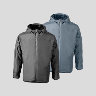 SKAH双面穿防风防泼水保暖外套