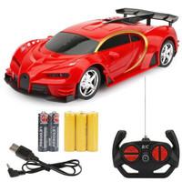 麦酷迪 儿童遥控玩具车 红色 充电升级版