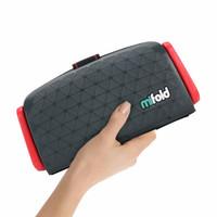 mifold 以色列品牌便携式汽车儿童安全座椅3-12岁简易通用车载 岩石灰