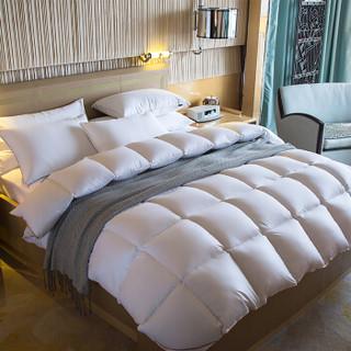 霞珍 100支全棉95%白鹅绒被 200*230cm填充1.2kg