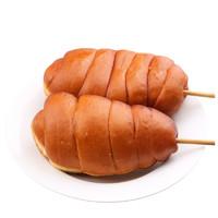 腾飞的小猪 鸡腿面包 豆沙/火腿可选 120g*4个