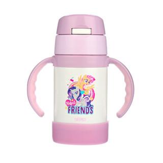 THERMOS 膳魔师 FEC-283S MP002 儿童水杯保温杯 小马宝莉版  *2件