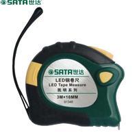 SATA/世达-凯明LED 3mx16mm钢卷尺 3米-(91346)/1卷