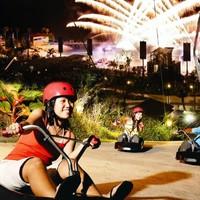 俯瞰圣淘沙岛、新加坡天际线!新加坡高速下滑车+空中吊椅体验2-4次