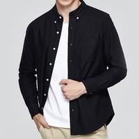 VANCL 凡客诚品 男士衬衫1090218 黑色 S