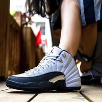 Air Jordan 12 Retro (GS) 复刻大童/女子运动童鞋