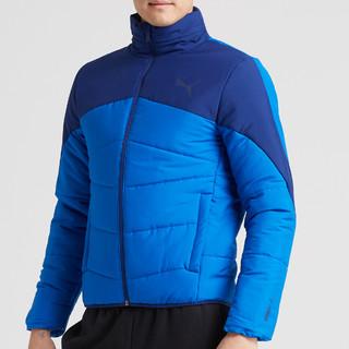 PUMA 彪马 男士运动夹克 ESS 594753(蓝色、M)