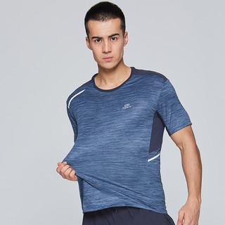 DECATHLON 迪卡侬 男士运动T恤8296520 深蓝色 XS