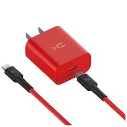 ZMI 紫米 HA711 PD3.0 快速充电器 18W + Type-C to Lightning MFi认证 数据线 1米