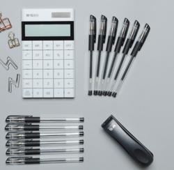 晨光科力普中性笔 黑色 0.5mm考试笔,12支一盒