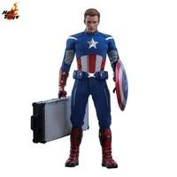 预定定金Hot Toys复仇者联盟4美国队长(2012年版)1:6比例珍藏人偶