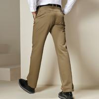 BEVERRY 比菲力 男士贡缎棉简约休闲裤