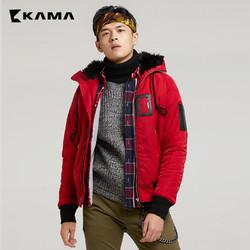 卡玛 KAMA 2417723 男士短款棉服