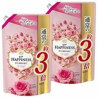 LENOR 柔顺剂 玫瑰和花卉 替换装 特大 1260ml×2 *4件
