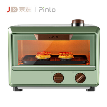 pinlo 品罗  PL-OS800-01 电烤箱蒸烤一体机 10升 复古绿