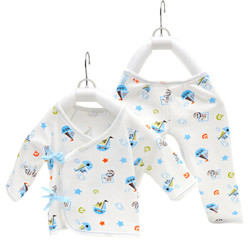 安琪娃   宝宝内衣裤子新生儿内衣裤纯棉套装4件套 *3件