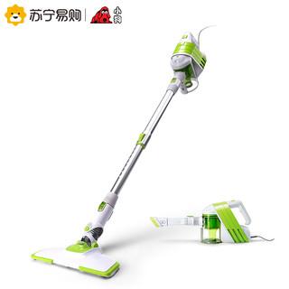 6日0点:小狗手持推杆吸尘器D-521强力家用小型迷你极简轻便清洁除尘