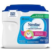 Similac 美国雅培 Non-GMO 婴儿非转基因配方奶粉 1段 658g 6罐
