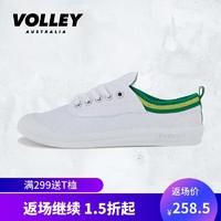 VOLLEY小白鞋情侣板鞋2019秋冬低帮运动休闲经典款软底透气帆布鞋