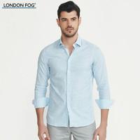 LONDON FOG/伦敦雾男装休闲长袖衬衫 LS15WH011