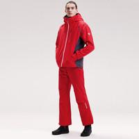 DESCENTE迪桑特 男子防水透气滑雪服 D8411SSJ05 红色-RD 2XL(185/104A)