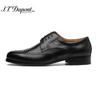 S.T. Dupont 都彭 G15120008 布洛克雕花正装皮鞋