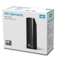 Western Digital 西部数据 Elements 桌面硬盘 14TB