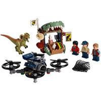乐高LEGO 侏罗纪 世界 公园 恐龙 儿童益智拼装积木玩具 男孩礼物 75934 双脊龙大逃亡