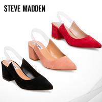 Steve Madden/思美登2019年新款高跟鞋女尖头透明一字带单鞋 DATE