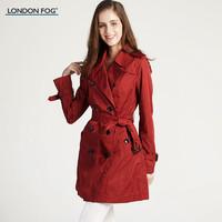 LONDON FOG/伦敦雾女士休闲风衣单外套 LS15WF605