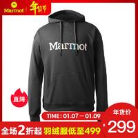 Marmot/土拨鼠秋冬新款户外运动休闲柔软保暖男士卫衣