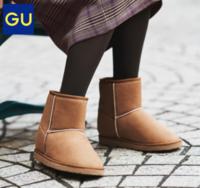 GU 极优 317502 女式雪地靴