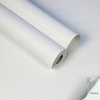 墨斗鱼马卡龙自粘墙贴白色9226 10米长45cm宽