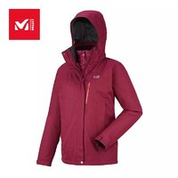 觅乐户外男女三合一多用途轻量高科技保暖防风防水冲锋衣 MIV7147