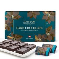 Alpes d'Or 爱普诗 85%黑巧克力礼盒 135g *6件