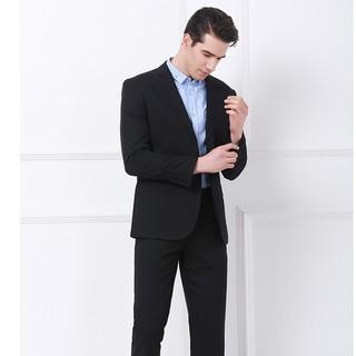 红豆旗下相思鸟(xiangsiniao)西服套装男士商务正装新品单排扣日常休闲平驳领修身款职业装套装