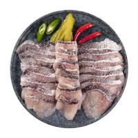 京东PLUS会员:中洋鱼天下 免浆黑鱼片300g *5件