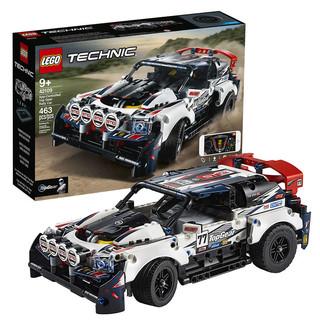 新品首降 : LEGO 乐高 科技系列 42109 Top Gear遥控拉力赛车