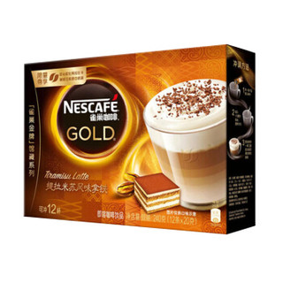 Nestle 雀巢 金牌馆藏 提拉米苏风味拿铁 速溶咖啡 20g*12条*5件+贝得力 婴儿护肤柔湿巾 80抽*3包