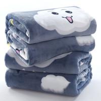xinlanisnow 馨兰芙曼 法兰绒毛毯 冬季加厚保暖   100*150cm