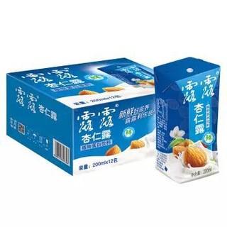 露露 杏仁露 植物蛋白饮料利乐盒装 200ml*12整箱 新品上市 *5件
