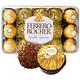 Ferrero 费列罗 意大利进口费列罗榛果金莎巧克力 30粒/盒375克 54.9元包邮(需用券)