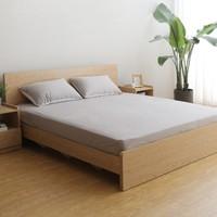 M&Z 掌上明珠家居 BS100 日式橡木纹床 1.8米