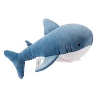 MINISO 名创优品 鲨鱼公仔毛绒玩具抱枕靠枕 送女朋友生日礼物