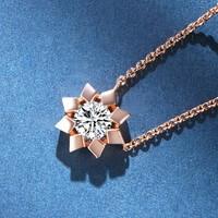 MY FASHION DESIGN   MYN1822 女款太阳花项链