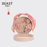 THEBEAST/野兽派 粉色小皮箱Twilly礼盒生日礼物送女生 红玛瑙葫芦项链