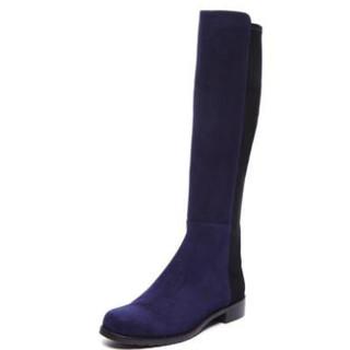 STUART WEITZMAN 5050系列 羊皮拼接长靴
