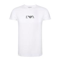 EMPORIO ARMANI 阿瑪尼 男士針織棉質圓領短袖T恤 2件裝